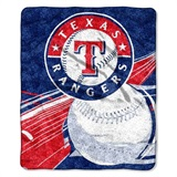 "Texas Rangers  MLB ""Big Stick"" Sherpa Throw"