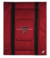 Texas Tech Red Raiders Sidelines Twin Comforter