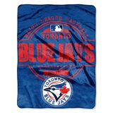 "Toronto Blue Jays MLB ""Structure"" Micro Raschel Throw"