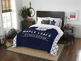 "Toronto Maple Leafs NHL ""Draft"" Full/Queen Comforter Set"
