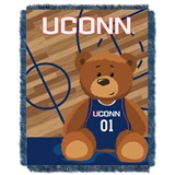 "U Conn  Huskies NCAA ""Fullback"" Baby Woven Jacquard Throw"