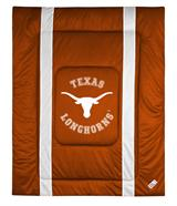 University of Texas Sidelines Twin Comforter