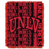 "UNLV Rebels NCAA ""Double Play"" Woven Jacquard Throw"