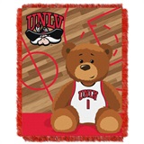 "UNLV  Rebels NCAA ""Fullback"" Baby Woven Jacquard Throw"