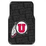 Utah Car Floor Mat Set