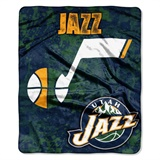 "Utah Jazz NBA ""Dropdown"" Raschel Throw"