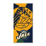 "Utah Jazz NBA ""Puzzle"" Oversized Beach Towel"