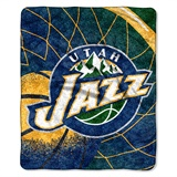 "Utah Jazz  NBA ""Reflect"" Sherpa Throw"