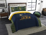 "Utah Jazz NBA ""Reverse Slam"" Full/Queen Comforter"
