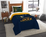 "Utah Jazz NBA ""Reverse Slam"" Twin Comforter"