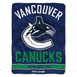 "Vancouver Canucks NHL ""Break Away"" Micro Raschel Throw"