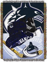 "Vancouver Canucks NHL ""Home Ice Advantage"" Woven Tapestry Throw"