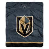 "Vegas Golden Knights NHL ""Jersey"" Raschel Throw"