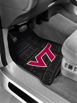 Virginia Tech Car Floor Mat Set