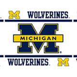 Michigan U Wolverines  Wall Border