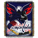"Washington Capitals NHL ""Home Ice Advantage"" Woven Tapestry Throw"