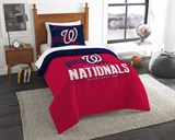 "Washington Nationals MLB ""Grand Slam"" Twin Comforter Set"