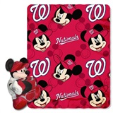 "Washington Nationals MLB ""Mickey"" Hugger with Throw"