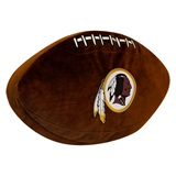 Washington Redskins NFL  Football Shaped 3D Plush Pillow