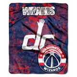 "Washington Wizards NBA ""Dropdown"" Raschel Throw"