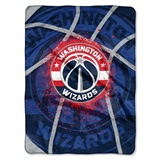 "Washington Wizards NBA ""Shadow Play"" Raschel Throw"