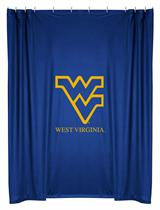 West Virginia Mountaineers NCAA Shower Curtain