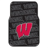 Wisconsin Car Floor Mat Set